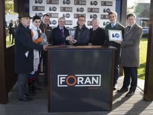 Presentation for Foran Equine Irish EBF €120,000 Final