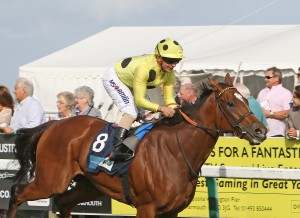 SHEIKHA REIKA winning at Great Yarmouth earlier this Autumn