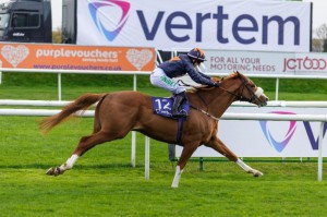 Morning Wonder Winning at Doncaster