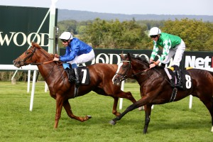 LINE OF DUTY wins EBF Sire/ Dam Restricted race at Goodwood 2018