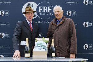 British EBF Chairman Simon Sweeting (left)